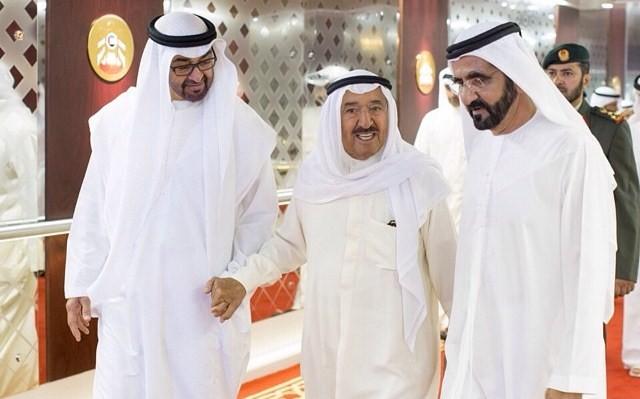 أمير الكويت يتطلع لحل الخلافات المؤسفة بدول الخليج خلال رمضان