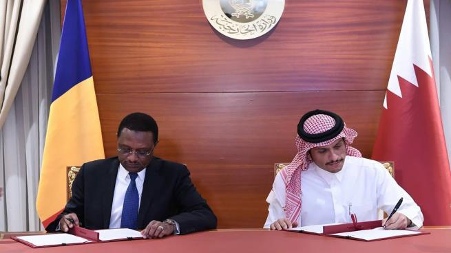 التشاد تتراجع عن خطوتها وتستأنف العلاقات مع قطر