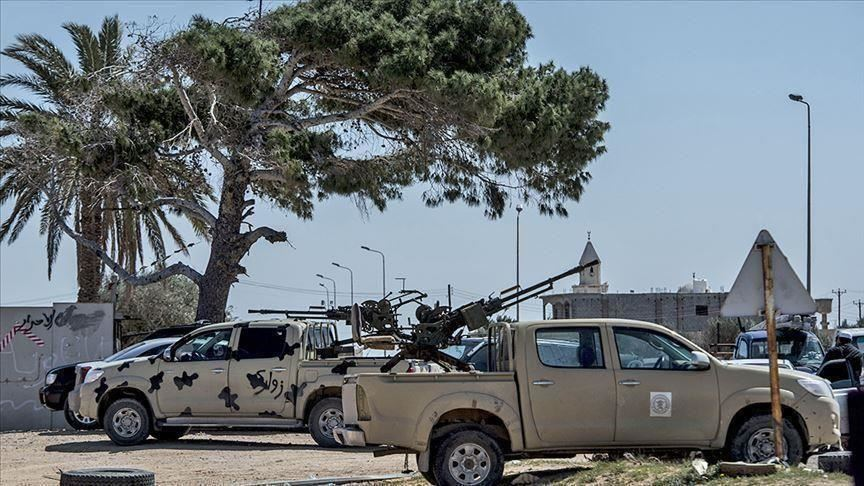 الحكومة الليبية تعلن تدمير 12 آلية لقوات حفتر بينها 4 مدرعات إمارتية جنوب طرابلس