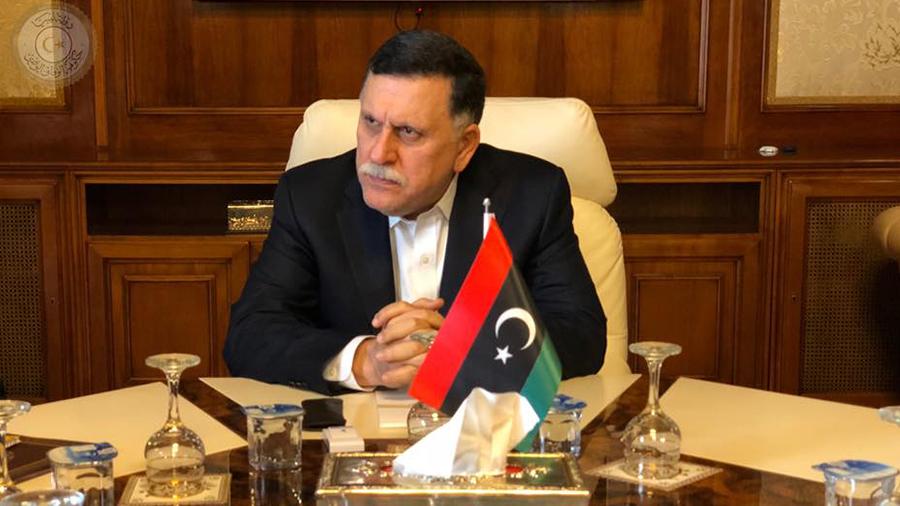 السراج: دور الإمارات في ليبيا مقلق وحفتر ليس شريكا للسلام