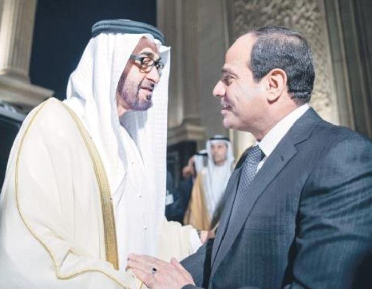 محمد بن زايد يبحث مع السيسي هاتفياً التطورات الإقليمية والدولية