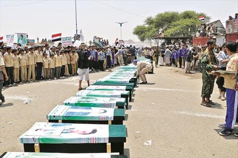 رايتس ووتش تحذر من الاستجابة لضغوط تهدف لإلغاء التحقيق في جرائم الحرب باليمن