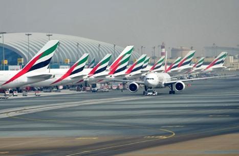 تعطل رحلات في مطار دبي بعد الاشتباه بوجود طائرة مسيرة