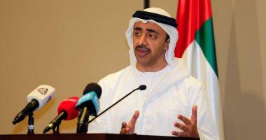 عبدالله بن زايد يترأس وفد الدولة في الاجتماع الوزاري حول ليبيا