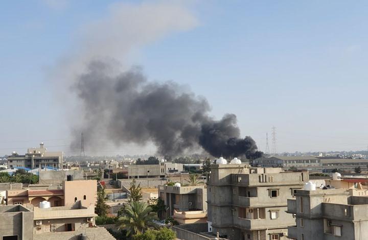 """حكومة """"الوفاق"""" تتهم الإمارات بقصف هدف مدني جديد في سرت"""