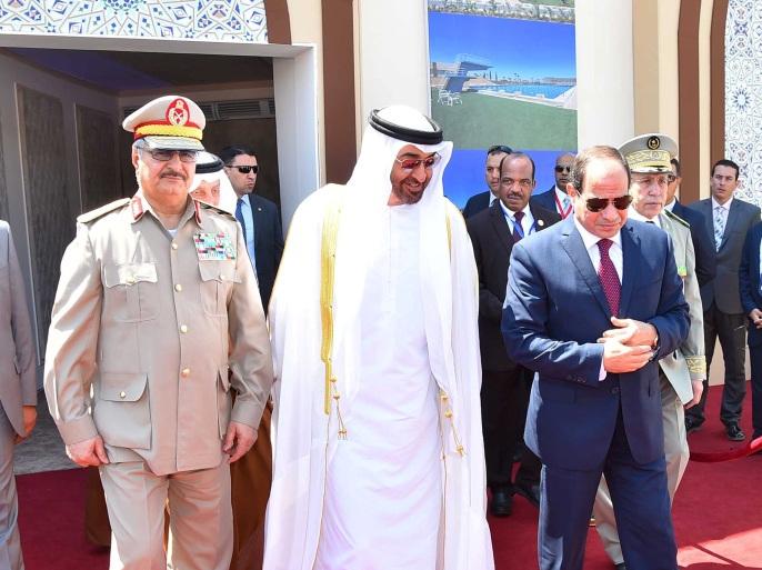 حفتر يصل إلى القاهرة لبحث الترتيبات المصرية الإماراتية الجديدة بشأن ليبيا